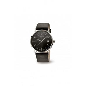 Cinturino per orologio Boccia 3557-01 / 3557-02 / 3557 / 811 X410S21 Pelle Nero 21mm