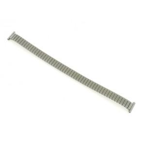 Cinturino dell'orologio 381273 Metallo Argento 12mm