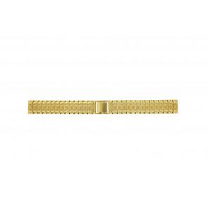 Cinturino per orologio Universale 41559.1.16 Acciaio Placcato oro 16mm