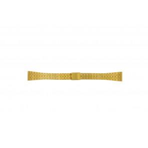 Cinturino per orologio Universale 42522.5.16 Acciaio Placcato oro 16mm