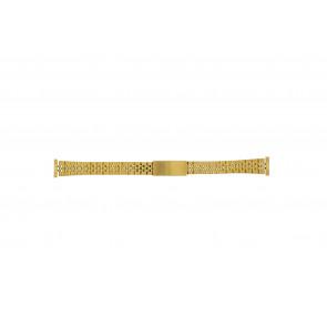 Cinturino dell'orologio 42539-1-14 Metallo Placcato oro 14mm