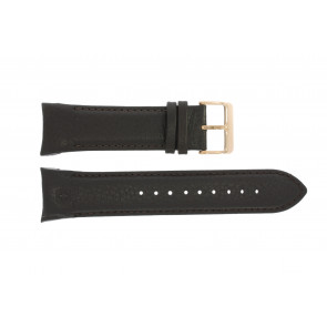 Cinturino per orologio Swiss Military Hanowa 06-4278 / 06-4278.04.001.05 / 06-4278.09.001 Pelle Marrone scuro 24mm