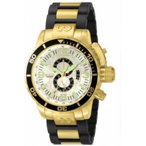 Cinturino per orologio Invicta 4899.01 Acciaio Placcato oro