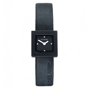 Cinturino per orologio Rolf Cremer 496207 Pelle Nero 14mm