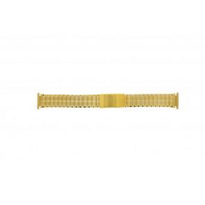 Cinturino per orologio Universale 551528 Acciaio Placcato oro 20mm