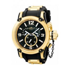 Cinturino per orologio Invicta 5670 Silicone Nero