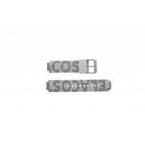 Lacoste cinturino dell'orologio LC-46-1-29-2224 / 609302262 / 2010532 Silicone Bianco 14mm