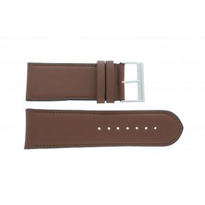 Cinturino dell'orologio 61215B.23.30 Pelle Marrone 30mm + cuciture di default