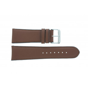 Cinturino dell'orologio 61215B.23.26 Pelle Marrone 26mm + cuciture di default
