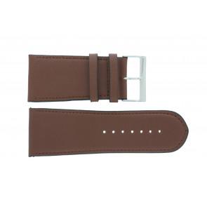 Cinturino dell'orologio 61215EB.23.38 Pelle Marrone 38mm + cuciture di default