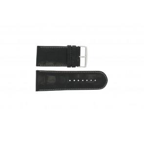 Cinturino per orologio Universale 61324.32Z Pelle Nero 32mm