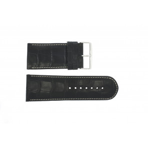 Cinturino per orologio Universale 61324-36B Pelle Blu 36mm