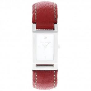 Cinturino per orologio Tommy Hilfiger 679300818-8471503 Pelle Rosso
