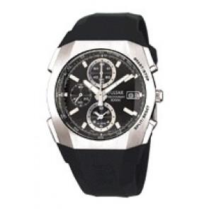 Cinturino per orologio Pulsar 7T62-X121 Plastica Nero
