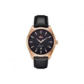 Cinturino per orologio Lacoste 2010582 / LC-52-1-34-2266 Pelle Nero 22mm