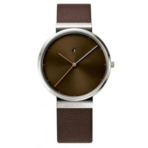 Cinturino per orologio 843 Pelle Marrone 19mm