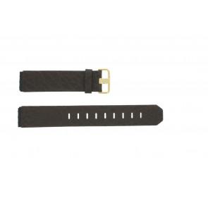 Cinturino per orologio Jacob Jensen 845 / 844 / 847 Pelle Marrone 19mm