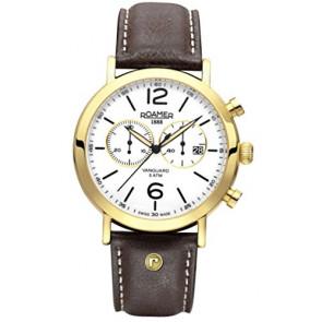 Cinturino per orologio Roamer 935951-48-24-09 Pelle Marrone