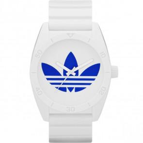 Cinturino per orologio Adidas ADH2704 Gomma Bianco 22mm