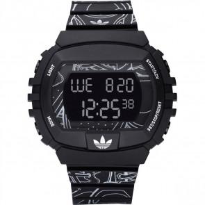 Cinturino per orologio Adidas ADH6096 Plastica Nero 15mm