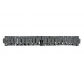 Cinturino per orologio Armani AR1421 Ceramica Nero 22mm