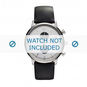 Cinturino per orologio Armani AR0385 Pelle Nero 22mm