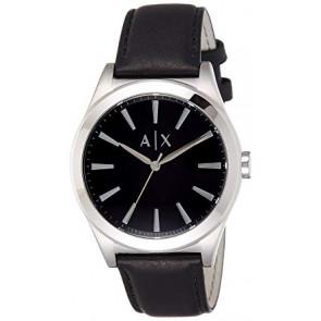 Cinturino per orologio Armani Exchange AX2323 Pelle Nero 22mm