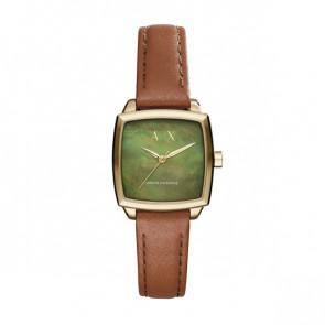 Cinturino per orologio Armani Exchange AX5451 Pelle Cognac 16mm