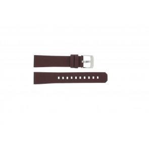 Cinturino per orologio Tag Heuer WAC1219 / BC0848 Pelle Bordò 17mm