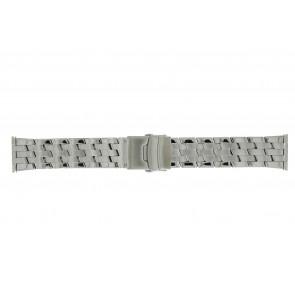 Morellato cinturino dell'orologio BE22.0634 Metallo Argento 24mm