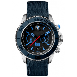Cinturino per orologio Ice Watch BM.BLB.B.L.14 Tela Blu 21mm