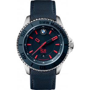 Cinturino per orologio Ice Watch BM.BRD.U.L.14 Pelle/Tessuto Blu 20mm