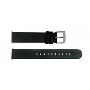 Cinturino per orologio Mondaine BM20026 Pelle Nero 16mm