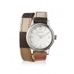 Cinturino per orologio Burberry BU7849 Pelle Multicolore