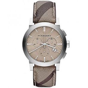 Cinturino per orologio Burberry BU9361 Pelle Marrone