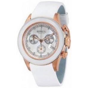 Cinturino per orologio Breil BW0516 Pelle Bianco