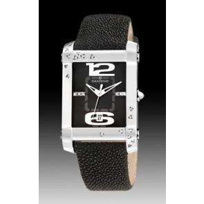 Cinturino per orologio Candino C4299-4 Pelle Nero 22mm