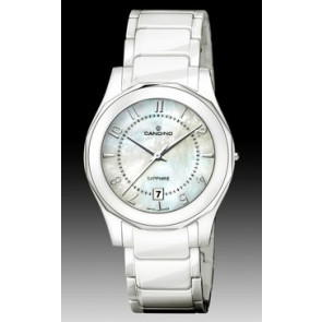 Cinturino per orologio Candino C4352-2 Ceramica Bianco