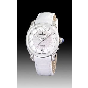 Cinturino per orologio Candino C4419-1 Pelle Bianco