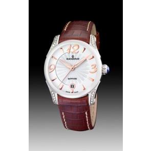 Cinturino per orologio Candino C4419-2 Pelle Marrone