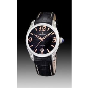 Cinturino per orologio Candino C4419-3 Pelle Nero