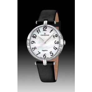 Cinturino per orologio Candino C4601-4 Pelle Nero