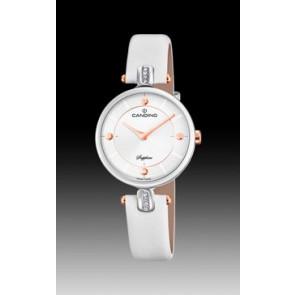 Cinturino per orologio Candino C4658-1 Pelle Bianco