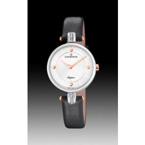 Cinturino per orologio Candino C4658-2 Pelle Nero