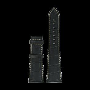 Cinturino per orologio Certina C610014032 XL Pelle Nero 23mm
