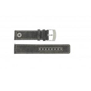 Cinturino per orologio Camel BC51001 / A661.5536LFPA Pelle Grigio 22mm