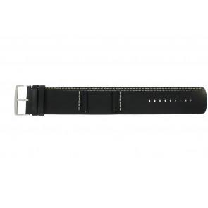 Cinturino per orologio Camel BC51022 Pelle Nero 26mm