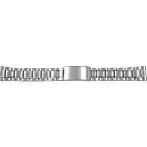 Cinturino dell'orologio CMA54-18 Metallo Argento 18mm