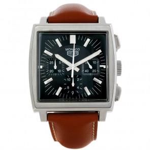 Cinturino per orologio Tag Heuer CS2111-BC0788 Pelle Marrone 22mm