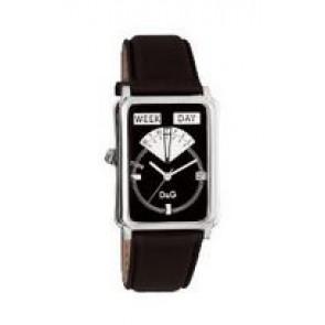 Cinturino per orologio Dolce & Gabbana DW0122 Pelle Nero
